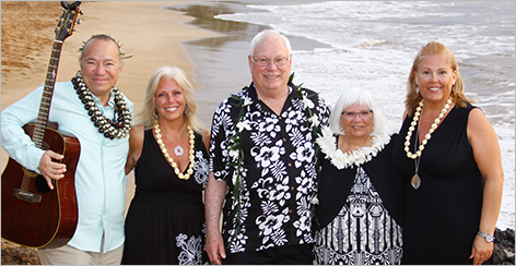 Re-Maui'd Vow Renewal Ceremony