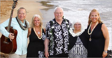 Re-Maui'd Vow Renewal Ceremony