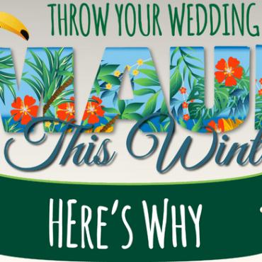 Maui Winter Wedding